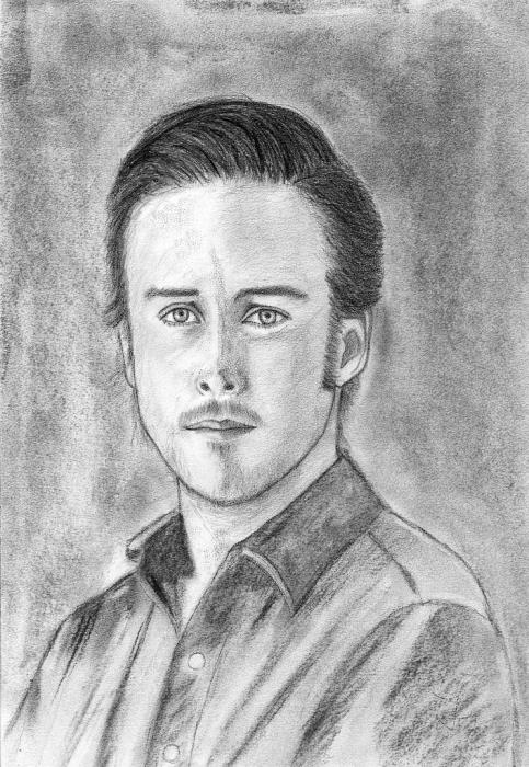 Ryan Gosling by irigoyen